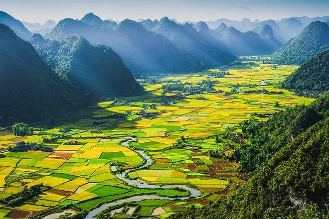 Những địa điểm check-in không thể bỏ qua khi đến Thung lũng Bắc Sơn