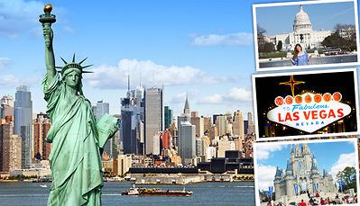 ĐÔNG TÂY NƯỚC MỸ: NEWYORK – PHILADELPHIA – WASHINGTON D.C - LOS ANGELES  SAN DIEGO – LAS VEGAS